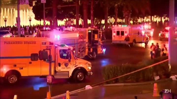 Atropelamento deixa um morto e 26 feridos em Las Vegas