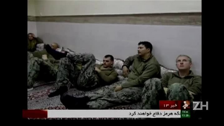 Irã liberta marinheiros americanos