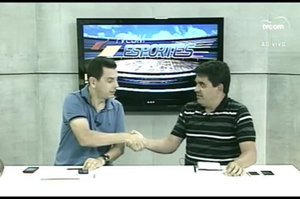 TVCOM Esportes. 1º Bloco. 12.01.16