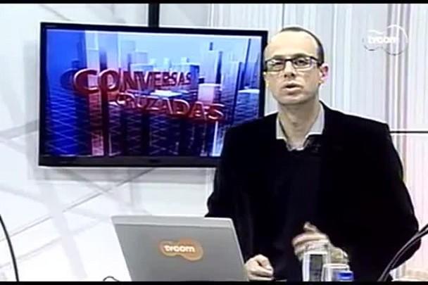 TVCOM Conversas Cruzadas. 2º Bloco. 19.08.16