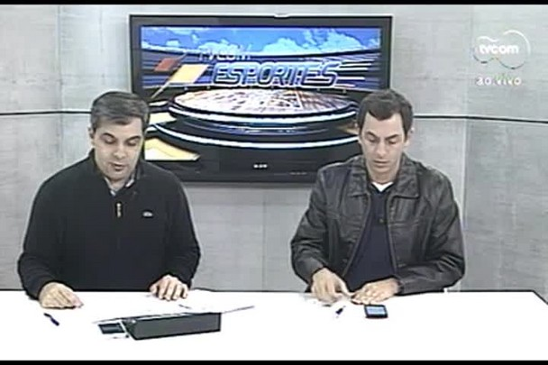 TVCOM Esportes 3º Bloco. 24.08.16