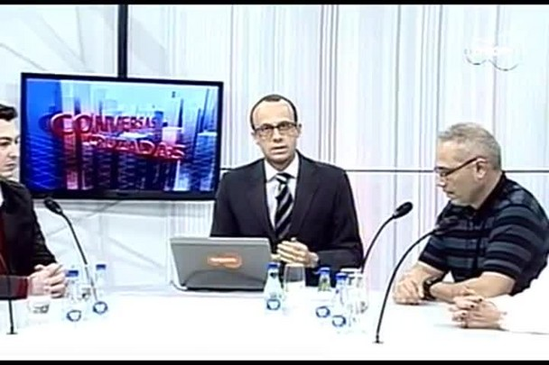 TVCOM Conversas Cruzadas. 2º Bloco. 25.08.16