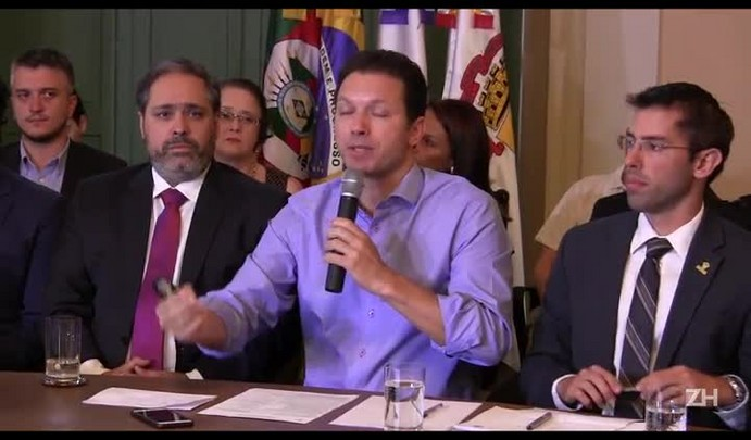 Marchezan fala sobre a situação financeira de Porto Alegre