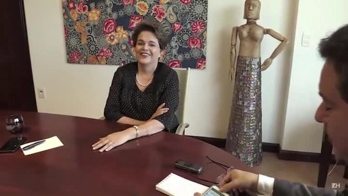 Seis meses depois, Dilma Rousseff não descarta volta à política