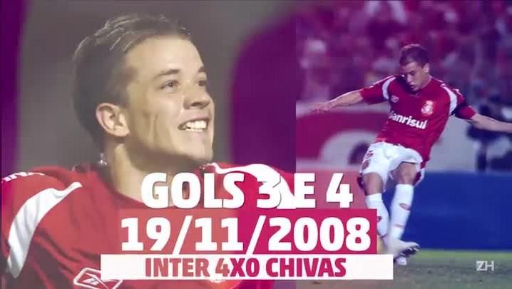Os 78 gols de D\'Alessandro no Inter