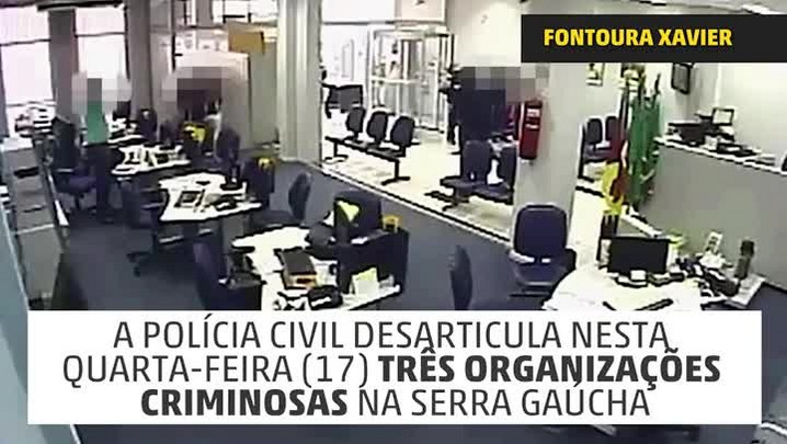 Criminosos atacam agência no interior do RS