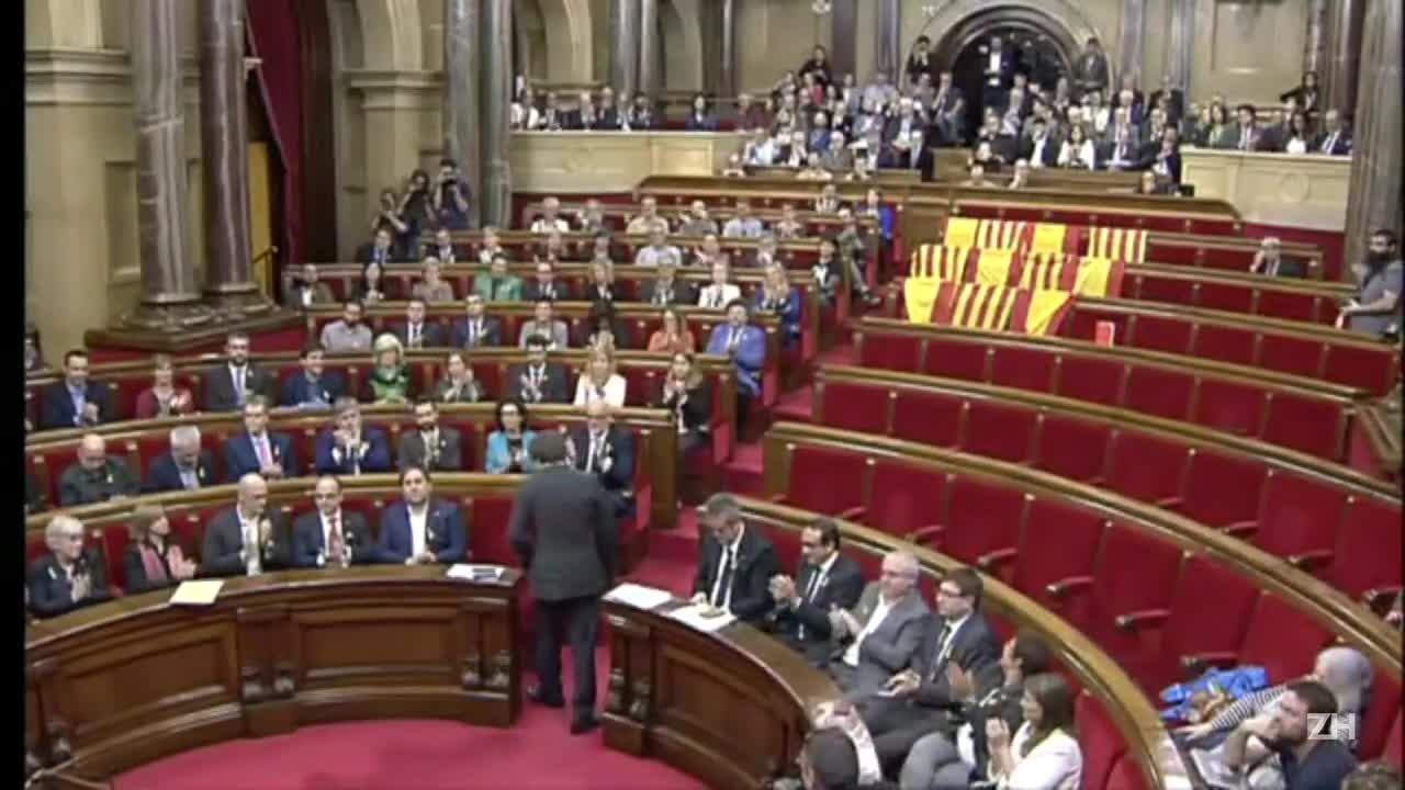 Aumenta crise sobre a Catalunha