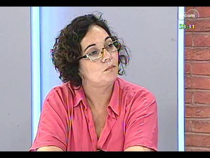 Mãos e Mentes - Coordenadora da Agência da Boa Notícia Guajuviras, Andrea de Freitas - Bloco 1 - 19/02/2013