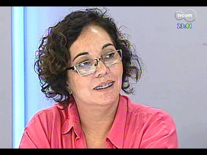 Mãos e Mentes - Coordenadora da Agência da Boa Notícia Guajuviras, Andrea de Freitas - Bloco 2 - 19/02/2013