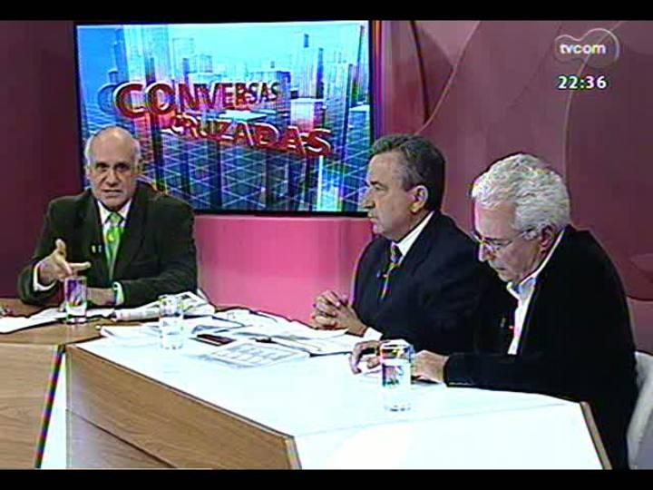 Conversas Cruzadas - As dificuldades para o metrô de Porto Alegre sair do papel - Bloco 2 - 16/04/2013