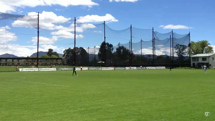 Trechos do jogo-treino do Grêmio contra o time B do La Equidad
