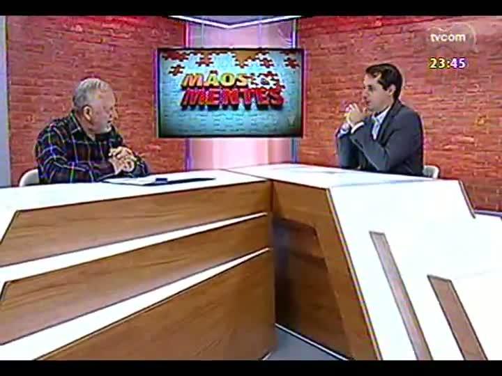 Mãos e Mentes - Dramaturgo e diretor da Cia. Teatro Novo, Ronald Radde - Bloco 2 - 13/05/2013