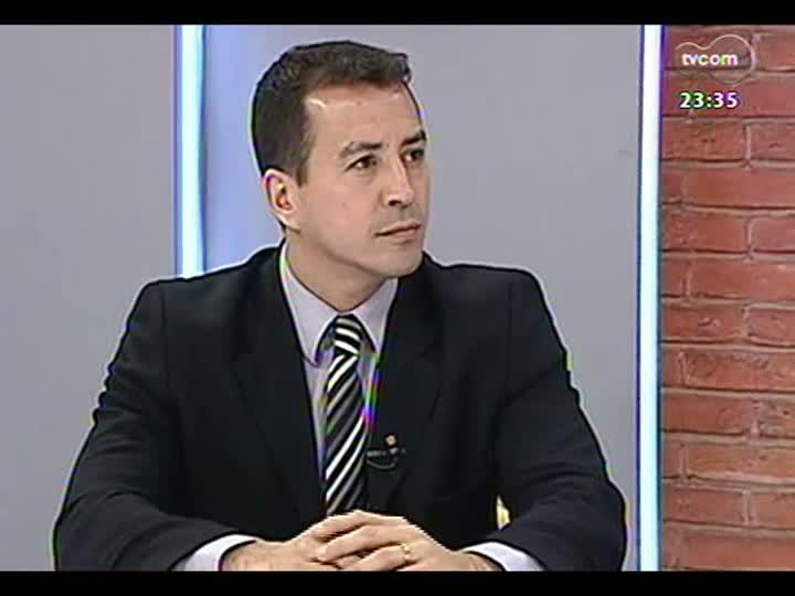 Mãos e Mentes - Superintendente regional da Polícia Federal, Sandro Caron - Bloco 4 - 19/05/2013