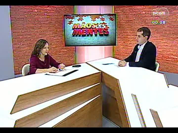 Mãos e Mentes - Coordenadora da Escola de Gestão e Negócios da Unisinos, Yeda Swirski de Souza - Bloco 4 - 20/05/2013