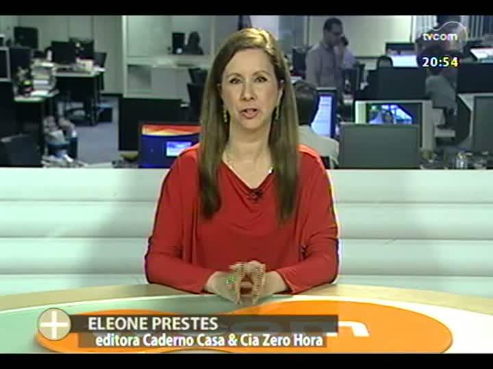 TVCOM Tudo Mais - Eleone Prestes mostra as tendências que estão na mostra Casa Cor 2013