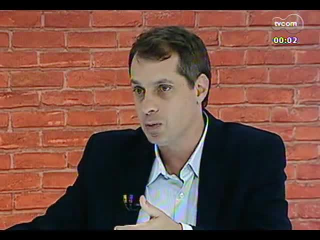 Mãos e Mentes - Superintendente do Sebrae-RS Léo Hainzenreder - Bloco 3 - 28/10/2013