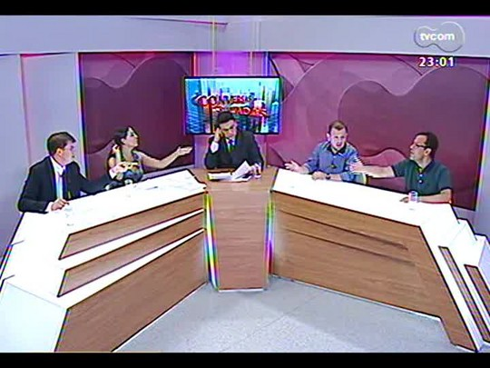 Conversas Cruzadas - Será que o novo Código de Limpeza Urbana de Porto Alegre vai funcionar? - Bloco 3 - 09/01/2014