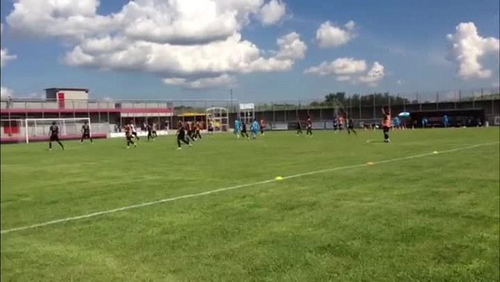 Confira como foi o treinamento do Grêmio na tarde desta sexta-feira - 17/01/2014