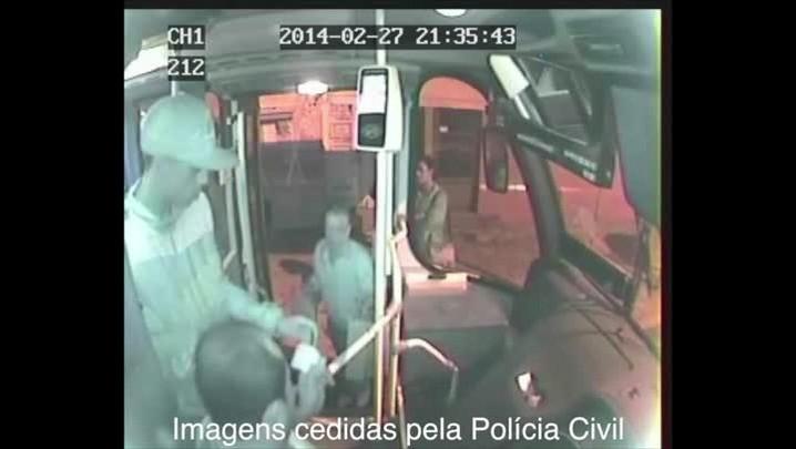 Confira imagens dos suspeitos de matarem motorista de lotação. 28/02/2014