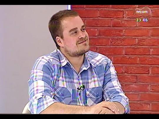Mãos e Mentes - Organizador do grupo Comunicação Não-Violenta e ativista Felipe Denz- Bloco 3 - 29/04/2014
