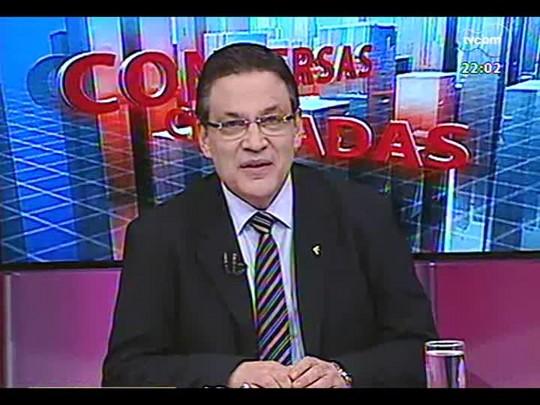 Conversas Cruzadas - Debate sobre o afastamento do presidente do STF, o ministro Joaquim Barbosa - Bloco 1 - 29/05/2014