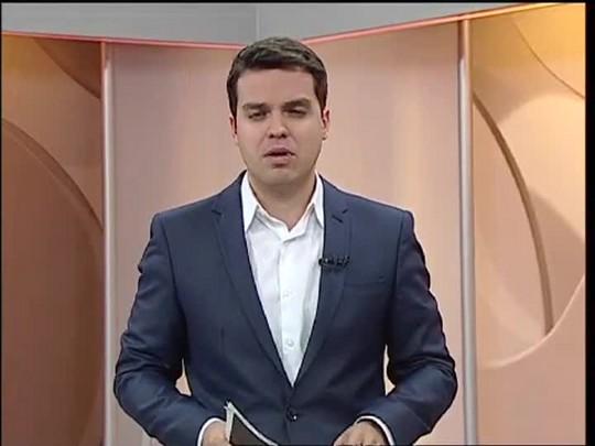 TVCOM 20 Horas - Volta a chover na região mais atingida pelas cheias no RS e o impasse no vestibular da UFSM - Bloco 1 - 17/07/2014