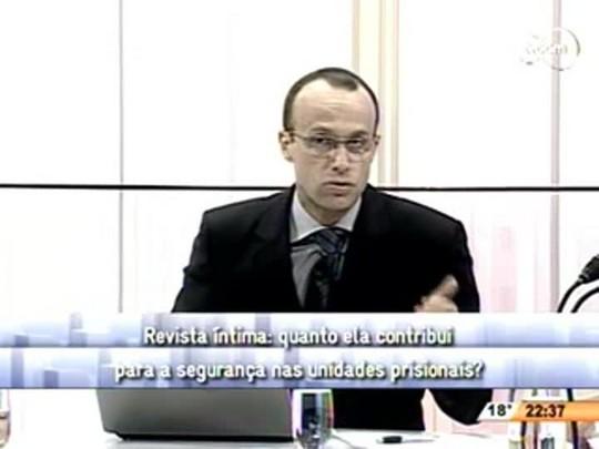 Conversas Cruzadas - Revista Íntima de Familiares de Detentos - 3ºBloco - 18.07.14