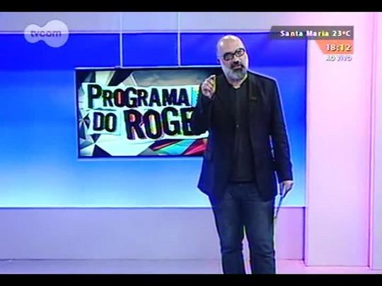"""Programa do Roger - Trailer \""""A 100 Passos de Um Sonho\"""" - Bloco 3 - 01/09/2014"""