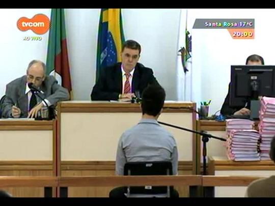 TVCOM 20 Horas - Começa nova etapa do precesso que investiga o incêndio da Boate Kiss - Bloco 1 - 16/09/2014