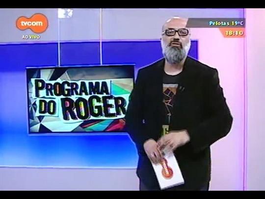 """Programa do Roger - Fabiano Avancine, sobre exposição \""""Esportes para a Vida\"""" - Bloco 3 - 01/10/2014"""