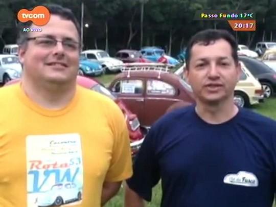 #PortoA - Admiradores de Fusca se encontram em evento na capital