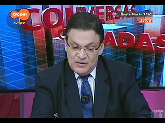 Conversas Cruzadas - O trabalho do novo Secretário da Segurança a partir de janeiro Wantuir Francisco Brasil Jacini - Bloco 3 - 16/12/2014