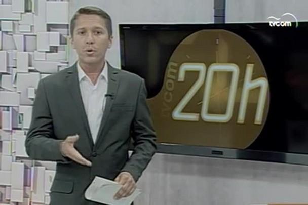 TVCOM 20h - Primeira etapa das obras do anel do viário começaram nesse fim de semana - 26.1.15