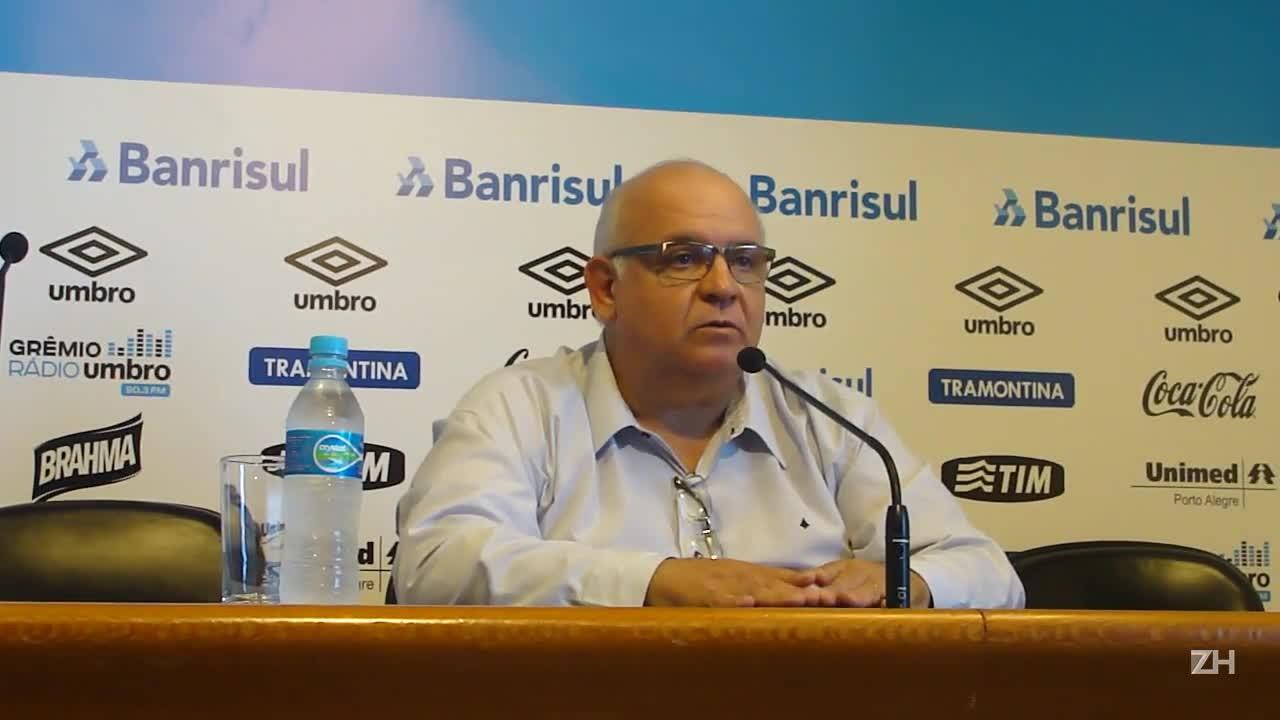 Bolzan anuncia saída de Felipão