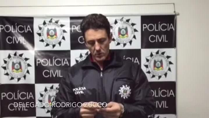 Delegado Rodrigo Zucco fala de operação contra quadrilha de roubo de veículos no Vale do Sinos