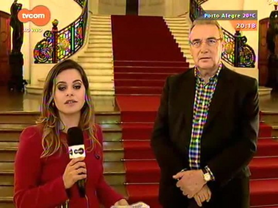 TVCOM 20 Horas - Presidente estadual do PP diz que crise no estado pode fazer partido votar a favor do aumento do ICMS - 21/09/2015