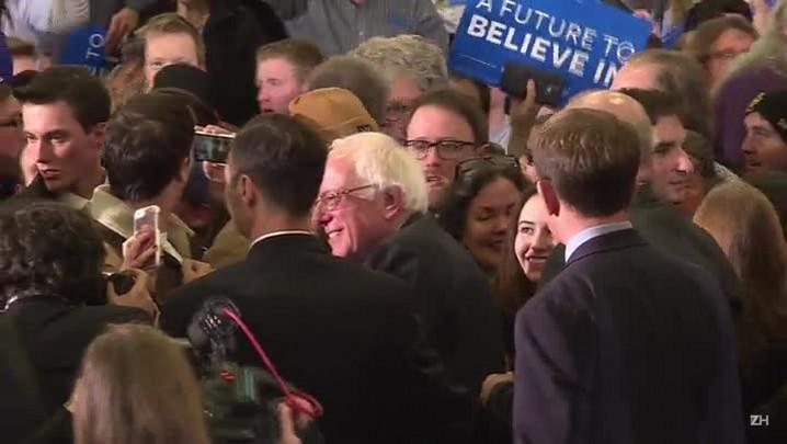 Sanders arrecada 5 milhões de dólares após vitória