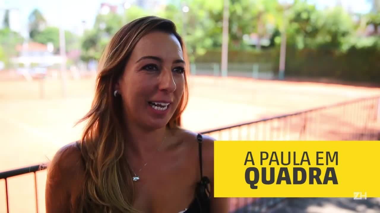 Paula Capulo é árbitra de tênis há mais de 15 anos
