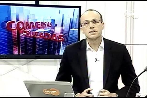 TVCOM Conversas Cruzadas. 3º Bloco. 14.07.16