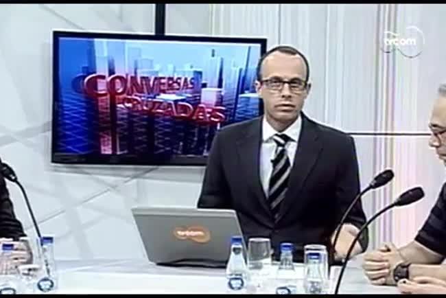 TVCOM Conversas Cruzadas. 4º Bloco. 25.08.16