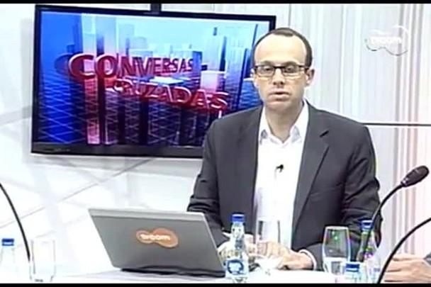 TVCOM Conversas Cruzadas. 3º Bloco. 31.08.16
