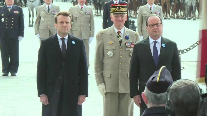 Transferência de poder na França será domingo