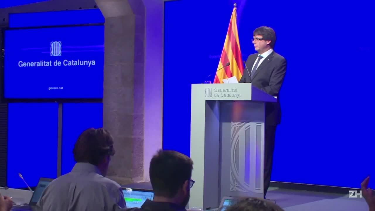 Governo catalão prevê declaração de independência em dias