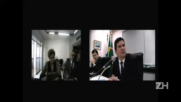 Dilma Rousseff presta depoimento ao juiz Sergio Moro