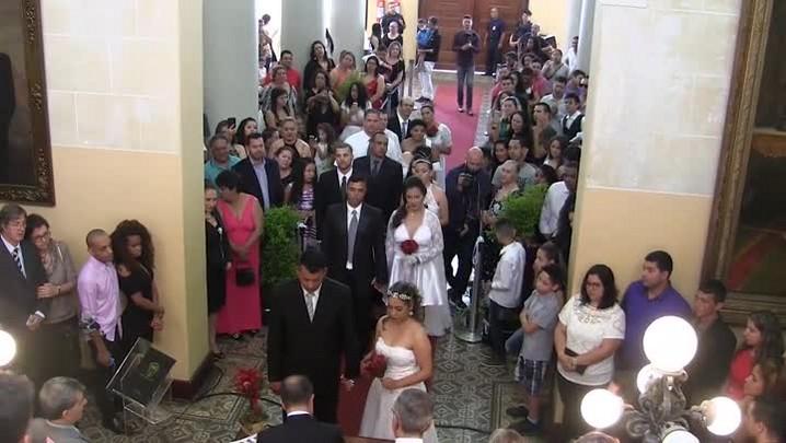 Casamento coletivo em Porto Alegre