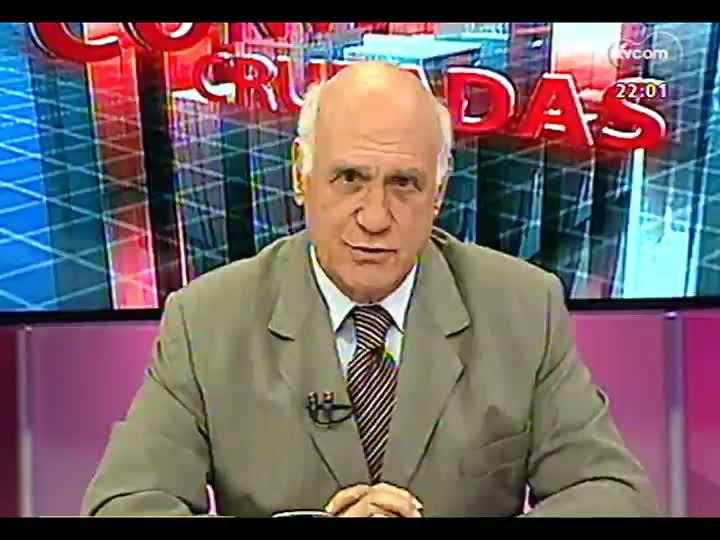 Conversas Cruzadas - Ação ilegal no Rio Jacuí - Bloco 1 - 14/01/2013