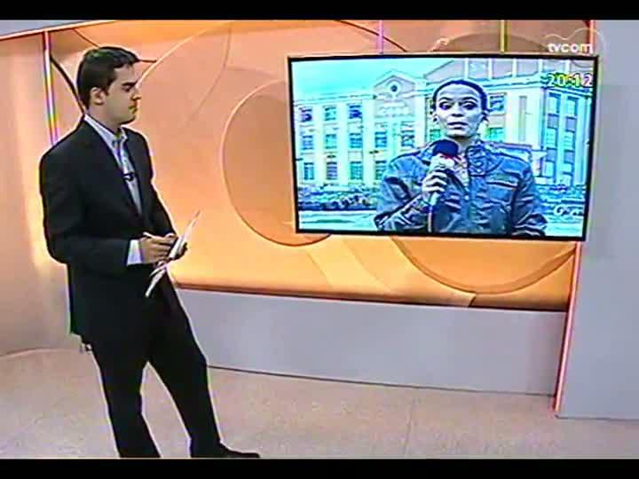 TVCOM 20 Horas - Análise de como foi o encontro de secretários de estado na Serra - 25/01/2013 - bloco 2