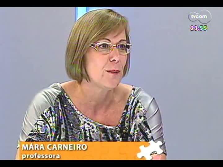 Mãos e Mentes - Especialista em educação à distância, Mára Carneiro - Bloco 3 - 01/02/2013