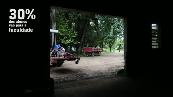 Veja como funciona a escola agrícola mais antiga do Rio Grande do Sul