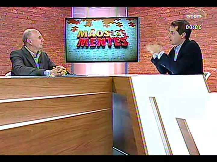 Mãos e Mentes - Presidente da Viação Ouro e Prata Hugo Fleck - Bloco 4 - 01/04/2013